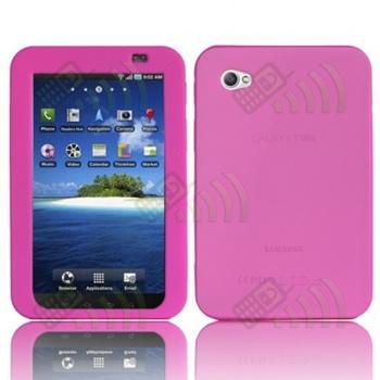 Funda Silicona Samsung Galaxy Tab Rosa
