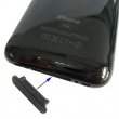 Protector del Conector Dock Iphone/Ipod/Ipad Negro