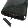 Protector del Conector Dock Iphone/Ipod/Ipad Negro