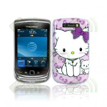 Carcasa trasera Blackberry 9800 Gatita