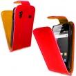 Funda Solapa Samsung Galaxy ACE S5830 Rojo Oscuro