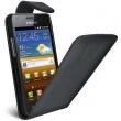 Funda Solapa Galaxy S Advance i9070 Negra