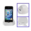 Cargador Base Dock Iphone 3G/4G, Ipad, Ipod Touch 4 Blanco