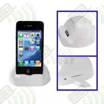Cargador Base Dock Iphone/Ipod/Ipad Blanco Manzana