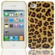 Carcasa trasera iPhone 4G y 4S Leopardo