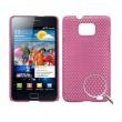 Carcasa trasera Samsung Galaxy S2 i9100 Rosa Perforada