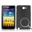 Carcasa trasera Samsung Galaxy Note i9220 Negra Perforada