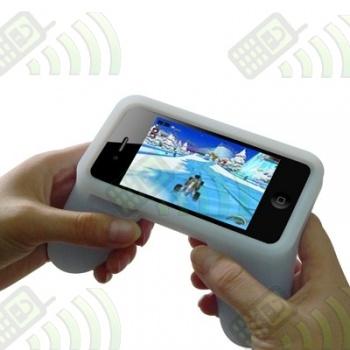 Mando Silicona Iphone 4 Negro