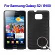 Carcasa trasera Samsung Galaxy S2 i9100 Negra Perforada