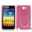 Carcasa trasera Samsung Galaxy Note i9220 Rosa Perforada