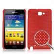 Carcasa trasera Samsung Galaxy Note i9220 Roja Perforada