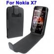 Funda Solapa Nokia X7 Negra