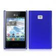 Funda Gel Silicona LG L3 Azul