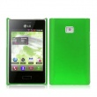 Funda Gel Silicona LG L3 Verde
