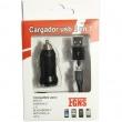 Cargador micro & mini USB Universal coche