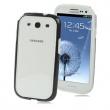 Bumper / Marco Antigolpes Samsung Galaxy S3 i9300 Negro Transparente