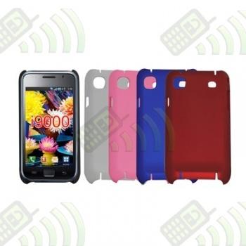 Carcasa trasera Samsung Galaxy S i9000 S Plus i9001 Roja