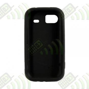 Funda Silicona HTC 7 Mozart HD3 Negra