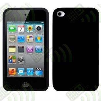 Funda Silicona Ipod Touch 4 Negra