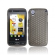 Funda Gel LG GT505 Oscuro Diamond