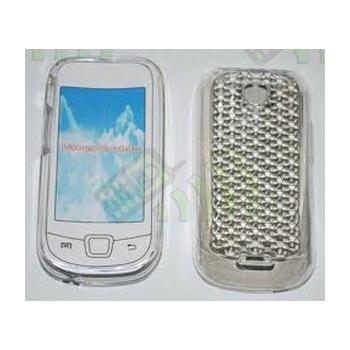 Funda Silicona Gel Samsung i5800 Galaxy 3 Transparente Diamond
