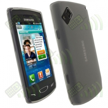 Funda Silicona Gel Samsung Wave 2 S8530 Transparente