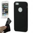 Funda Silicona Gel iPhone 5 Negra  S-Type