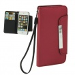 Funda Tipo Billetera Iphone 5 granate