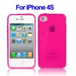 Funda Gel iPhone 4 & 4S Magenta