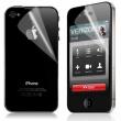 Protector Pantalla y Parte trasera Mate iPhone 4