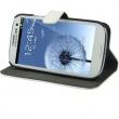 Funda Solapa con Soporte Samsung I9300 Galaxy S III Negra