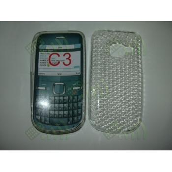 Funda Gel Nokia C3-00 Transparente Diamond