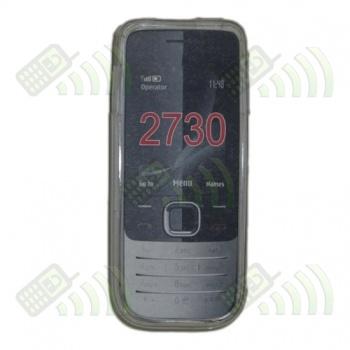 Funda Gel Nokia 2730 Transparente Diamond