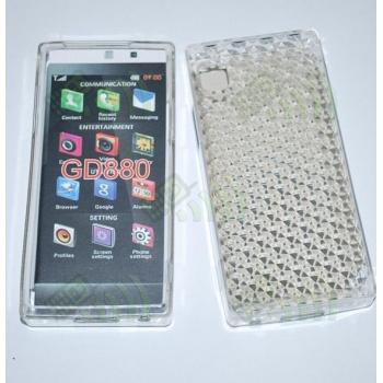 Funda Gel LG GD880 Transparente Diamond