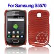 Carcasa Samsung Galaxy Mini i5570 Rojo Oscuro