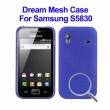 Carcasa Samsung Galaxy Ace S5830 Azul Puntitos