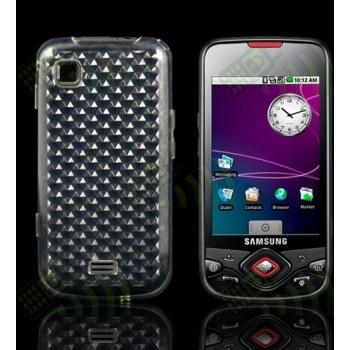 Funda Gel Samsung Galaxy Spica i5700 Transparente Hexágonos