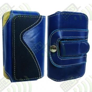 Funda para Cinturón Horizontal Azul/Negra