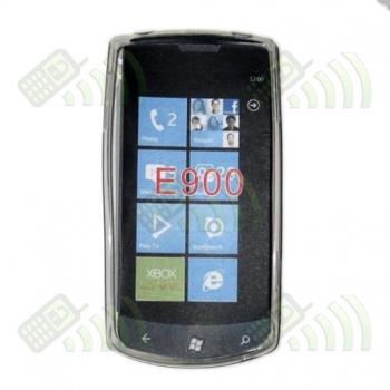 Funda Gel LG E900 OPTIMUS 7 Transparente Diamond