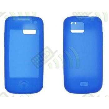 Funda Silicona Samsung Jet S8000 Azul