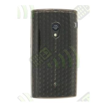 Funda Silicona Gel SE Xperia X10 Oscura Diamond