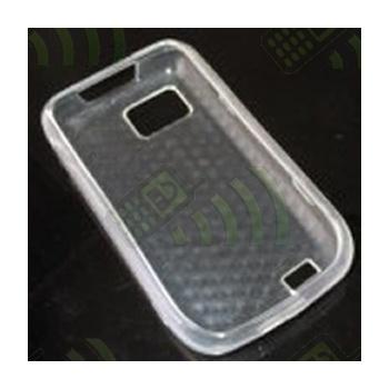 Funda Gel Samsung S5600 My Touch Transparente Hexágonos