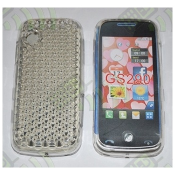 Funda Gel LG GS290 Transparente Diamond
