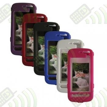 Carcasa Nokia 5800 Xpress Music Rosa