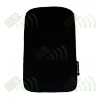 Funda Neopreno Negro iPhone 12,5x7cm.