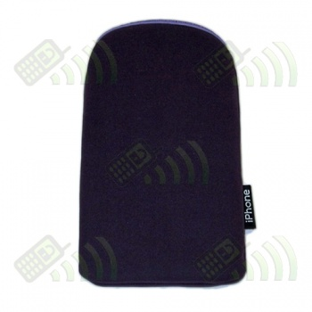 Funda Neopreno Morada iPhone 12,5x7cm