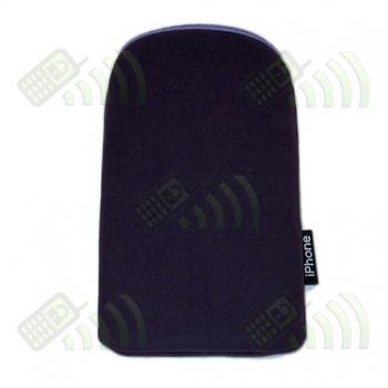 Funda Neopreno Morada iPhone 12,5x7cm