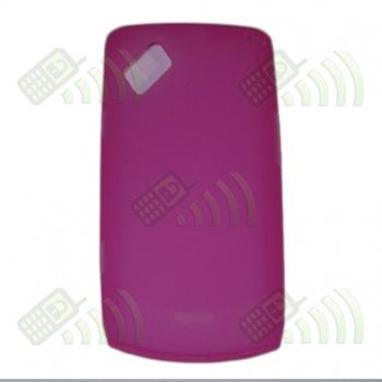 Funda Silicona Gel Samsung Wave 2 S8530 Rosa