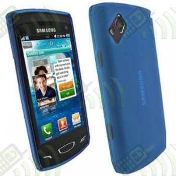 Funda Silicona Gel Samsung Wave 2 S8530 Azul