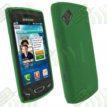 Funda Silicona Gel Samsung Wave 2 S8530 Verde